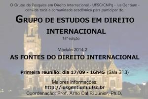 Cartaz - IusGentium - 2014.2