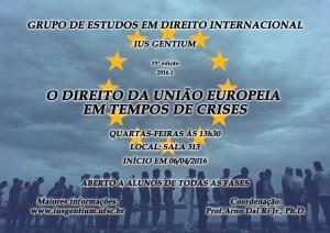 Cartaz Grupo - Em tempo de criseS